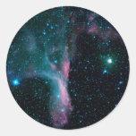 Bailarín cósmico de NASAs Pegatina Redonda