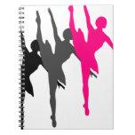 bailarín cuadernos