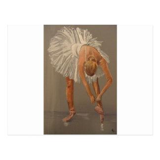 Bailarín de ballet 1 postal