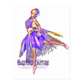 Bailarín de ballet 6 - bailarina incondicional de tarjetas postales