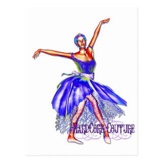 Bailarín de ballet 7 - bailarina incondicional de postal