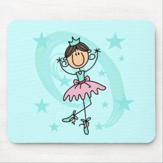 Bailarín de ballet - camisetas y regalos de Brown Alfombrilla De Ratones