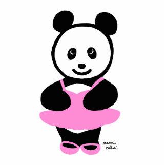 Bailarín de ballet de la panda de Kawaii Esculturas Fotograficas