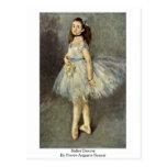 Bailarín de ballet de Pierre-Auguste Renoir Postal