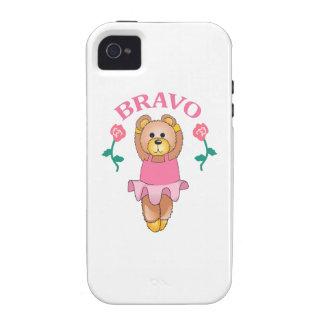 BAILARÍN DE BALLET DEL BRAVO iPhone 4/4S CARCASAS