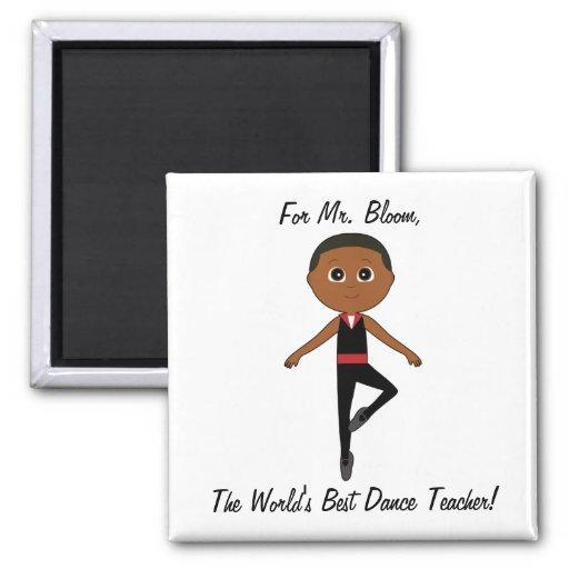 Bailarín de ballet del muchacho: Gracias bailar al Imán De Frigorífico