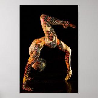 Bailarín de ballet Delfina Impresiones