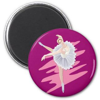 Bailarín de ballet imanes