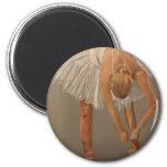 bailarín de ballet iman para frigorífico