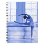 Bailarín de ballet libro de apuntes