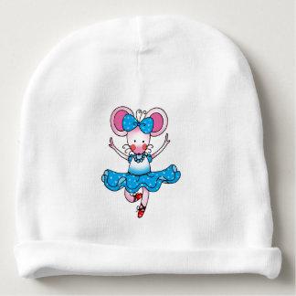 bailarín de ballet lindo del chica del ratón gorrito para bebe