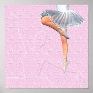 Bailarín de ballet impresiones