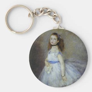 Bailarín de ballet por Renoir, arte del Llavero