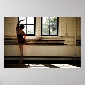 Bailarín de ballet póster