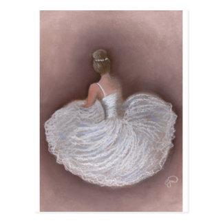 bailarín de ballet tarjetas postales