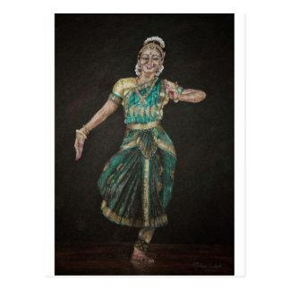 Bailarín de Bharatanatyam Postales