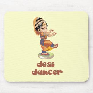 Bailarín de Desi Tapetes De Ratón