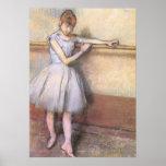 Bailarín de Edgar Degas en la barra Impresiones