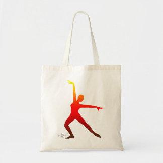 Bailarín de Firebird Bolsas De Mano
