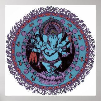 Bailarín de Ganesh Póster
