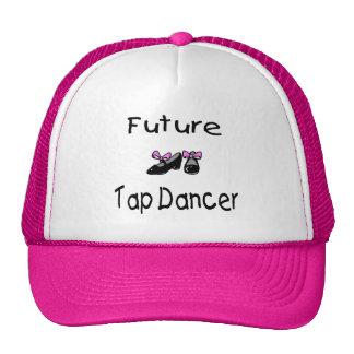 Bailarín de golpecito futuro gorras