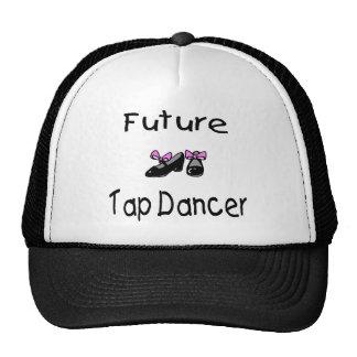 Bailarín de golpecito futuro gorros