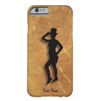 Bailarín de golpecito personal funda de iPhone 6 barely there