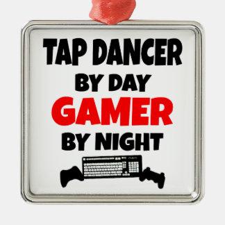Bailarín de golpecito por videojugador del día por ornamentos de reyes