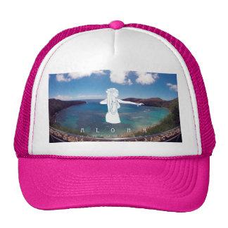 Bailarín de Hawaii Hula de la bahía de Hanauma de Gorro