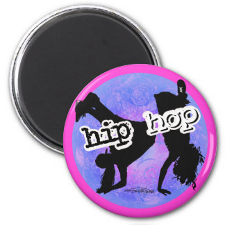 Bailarín de HIP HOP Imán Redondo 5 Cm
