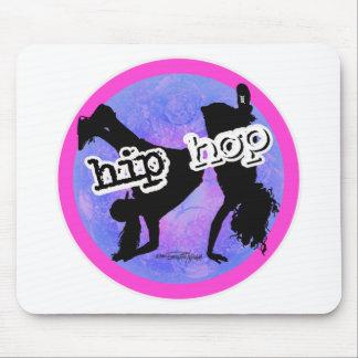 Bailarín de HIP HOP Alfombrillas De Ratón