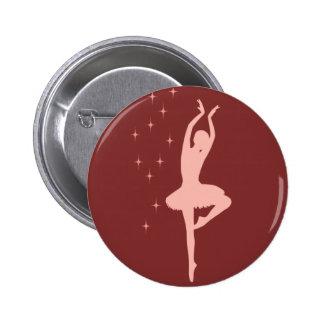 Bailarín de la bailarina pins