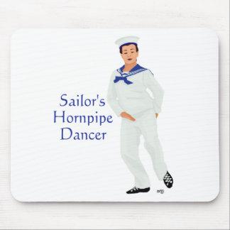 Bailarín de la montaña de Hornpipe de los marinero Mousepad