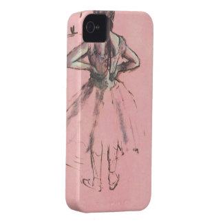 Bailarín de la parte posterior por ballet del carcasa para iPhone 4