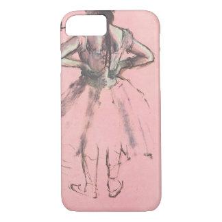 Bailarín de la parte posterior por ballet del funda iPhone 7