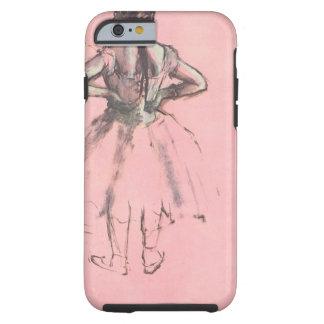 Bailarín de la parte posterior por ballet del funda resistente iPhone 6