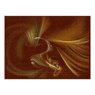Bailarín de la pluma posters