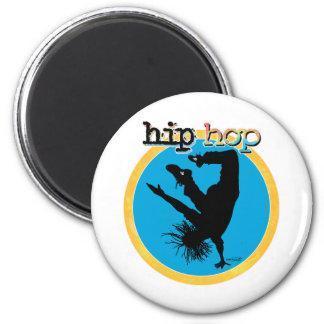 Bailarín de la rotura de HIP HOP Imán Redondo 5 Cm