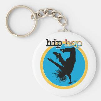 Bailarín de la rotura de HIP HOP Llavero Personalizado