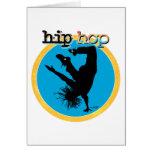 Bailarín de la rotura de HIP HOP Tarjetas