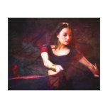 Bailarín de Nepal Lienzo Envuelto Para Galerías