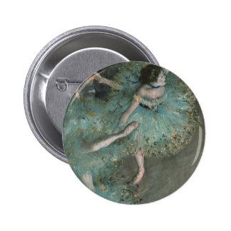 Bailarín de ocsilación - Edgar Degas Pin Redondo 5 Cm