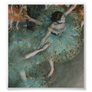 Bailarín de ocsilación - Edgar Degas Póster