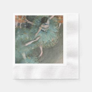 Bailarín de ocsilación - Edgar Degas Servilleta De Papel