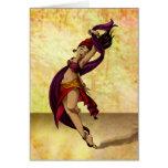 Bailarín de Rohesia Felicitación