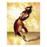 Bailarín de Rohesia Membrete A Diseño