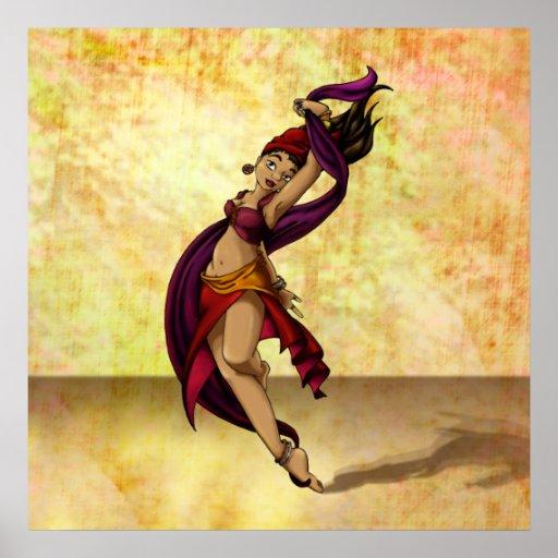 Bailarín de Rohesia Poster