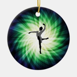 Bailarín de sexo masculino fresco adorno de navidad