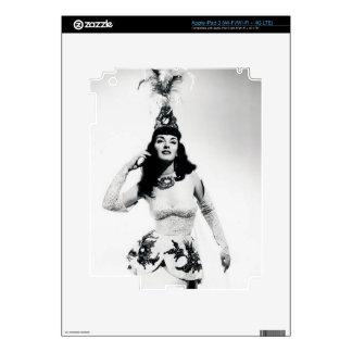 Bailarín de Vinatge Pegatinas Skins Para iPad 3