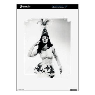 Bailarín de Vinatge Skin Para El iPad 2